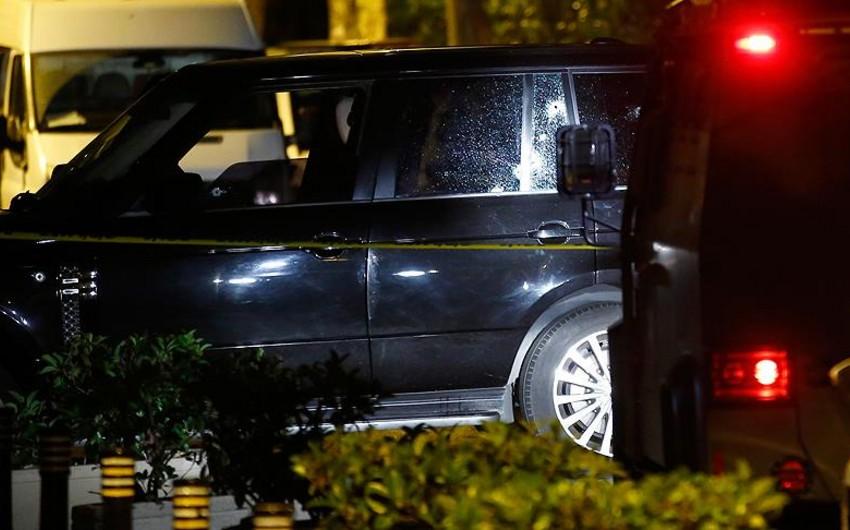 Azərbaycanlı iş adamı Türkiyədə hücuma məruz qalıb, sürücüsü öldürülüb - FOTO