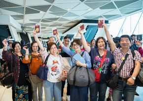 Airports in Azerbaijan issued visas to more than 376,000 tourists