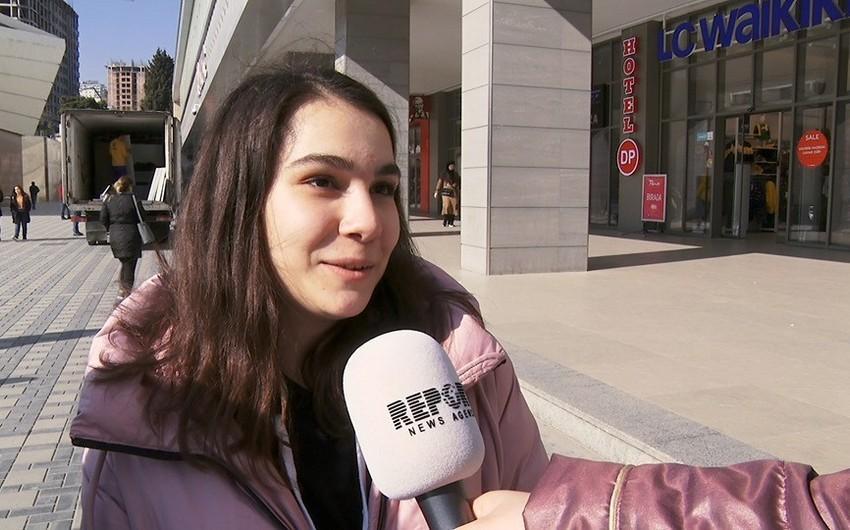 """""""İndi ən yaxşı 8 Mart hədiyyəsi maskadır..."""" - VİDEOSORĞU"""