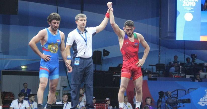 2nd European Games: Haji Aliyev qualifies for semifinal - UPDATED-2