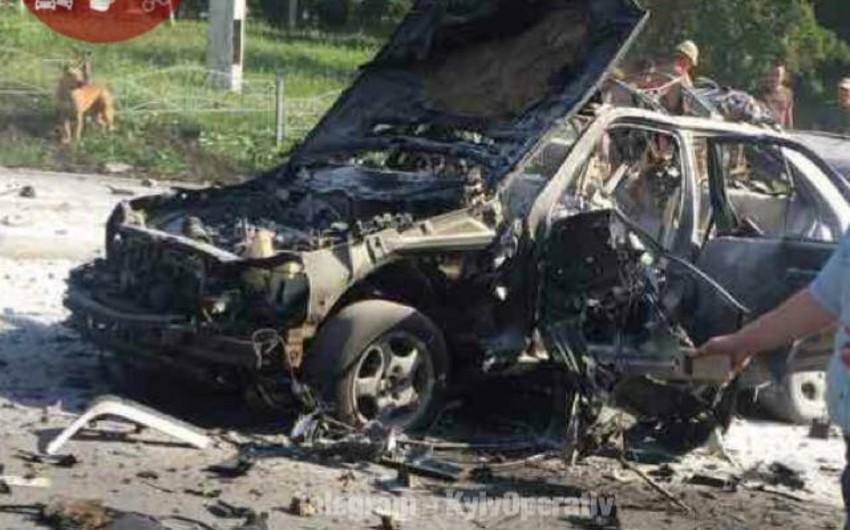 Serviceman dies in car explosion in Kiev today: incident declared terror attack