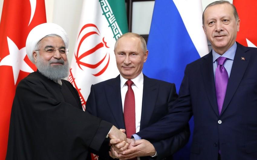 Putin, Ruhani və Ərdoğan arasında üçtərəfli görüş planlaşdırılır