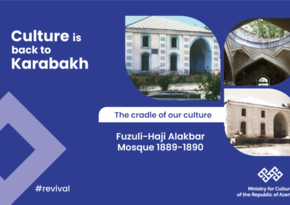 Ministry of Culture: Armenians destroy Haji Alakbar mosque in Fuzuli
