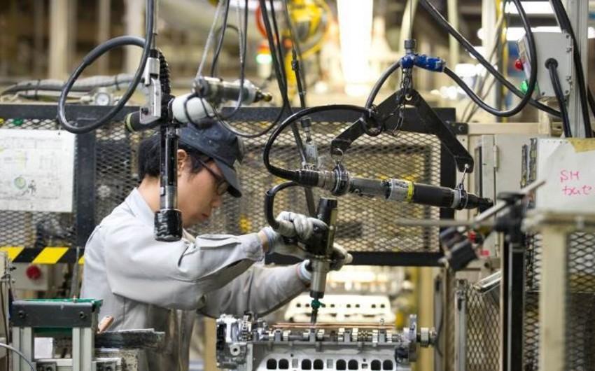 Yaponiyada sənaye istehsalı son 7 ilin minimumuna düşüb