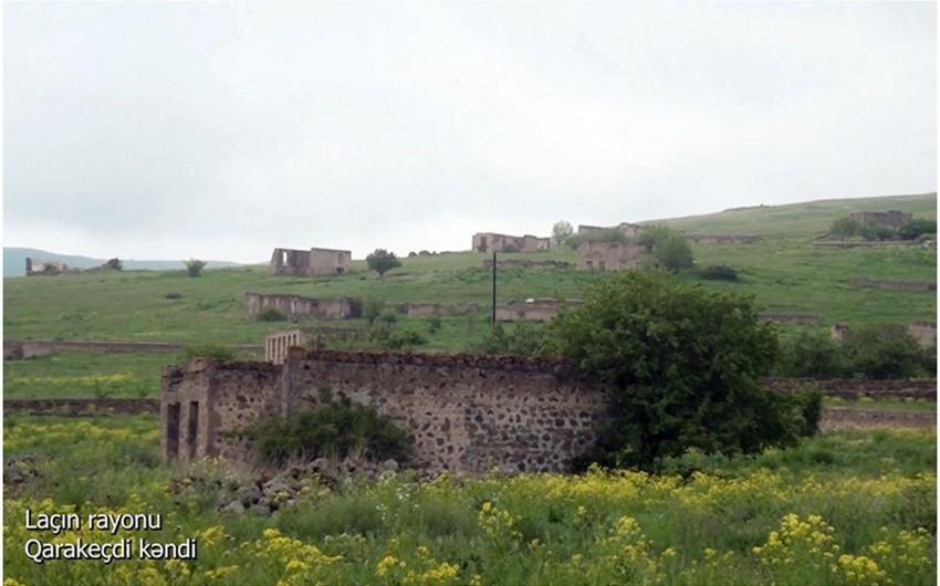 Освобожденное от оккупации село Гаракечди Лачинского района