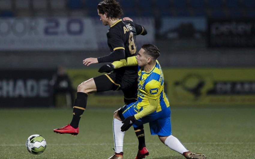 Azərbaycan millisinin futbolçusu Hollandiya klubunda debüt edib
