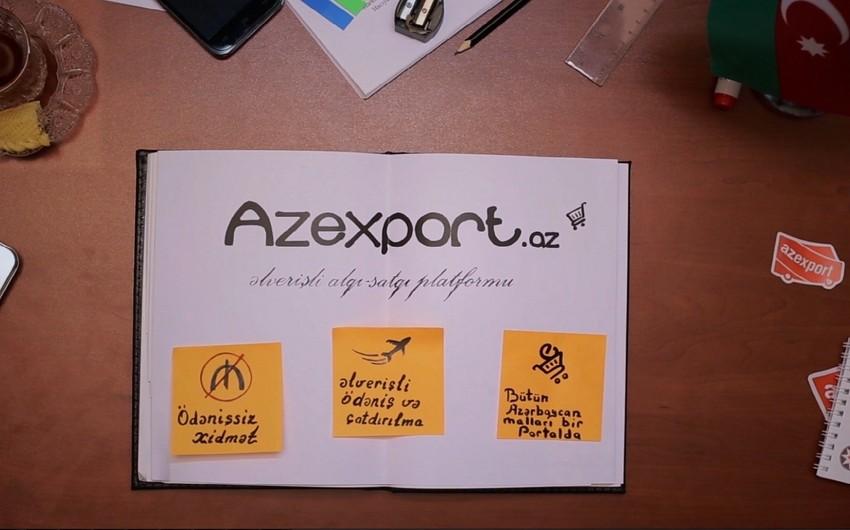 Azexport portalına sifarişlər 20%-dən çox artıb