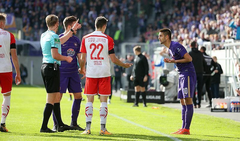 Немецкий футбольный союз наказал футболиста сборной Азербайджана