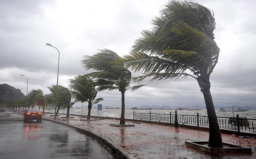 Yaponiyada tayfun 114 mindən çox evi işıqsız qoydu