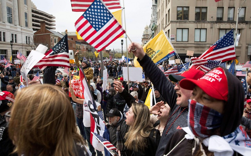40 arrested in US over protests against police custody death