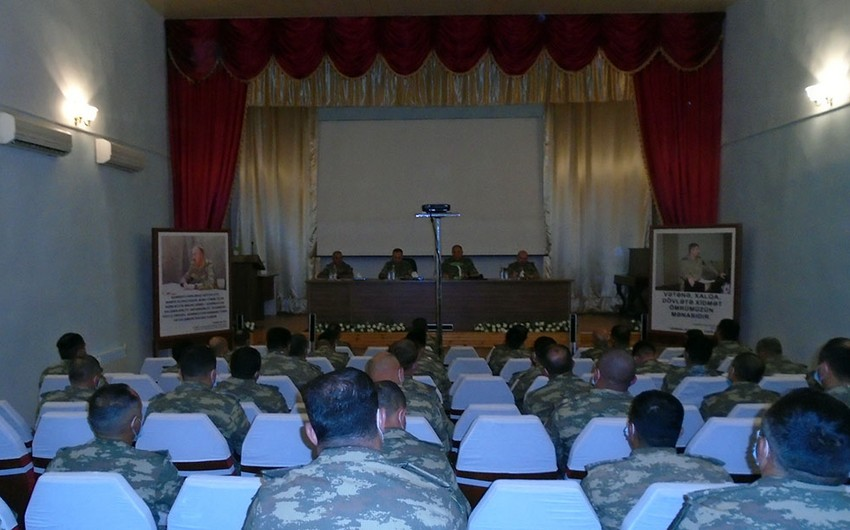 Defence Ministry checks combat training of military personnel in foremost units