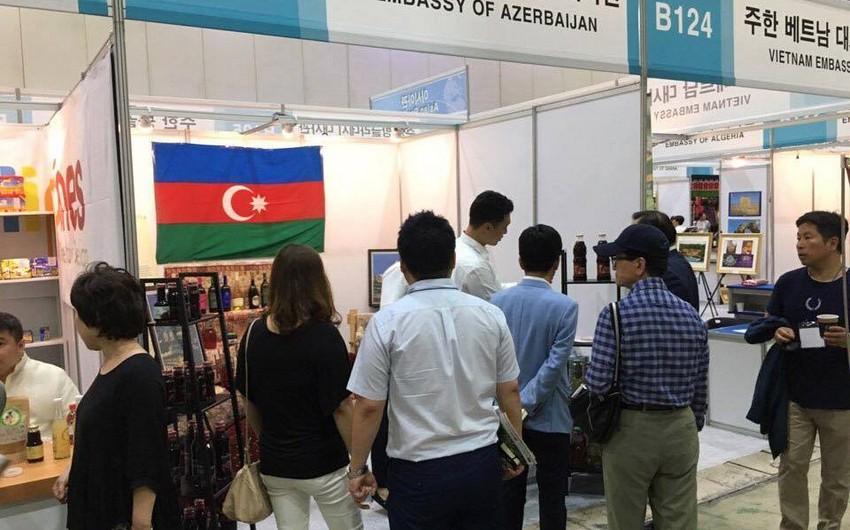 Azərbaycan Seulda keçirilən idxal məhsulları sərgisində iştirak edib