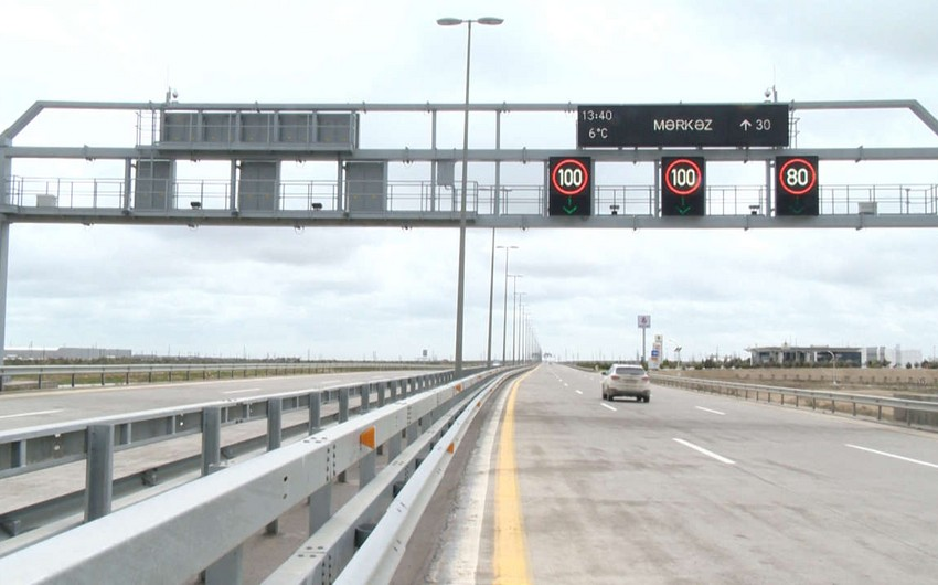 Speed limit on some roads in Baku reduced