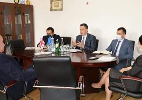 Обсуждено создание в грузинском вузе факультета азербайджанского языка и литературы