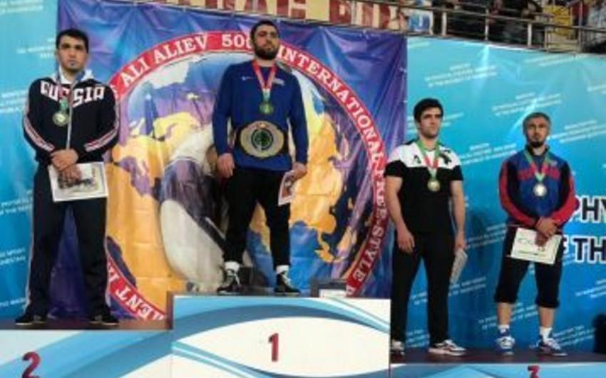 Azərbaycanın olimpiya çempionu Rusiyadakı xatirə turnirində qızıl medal qazanıb