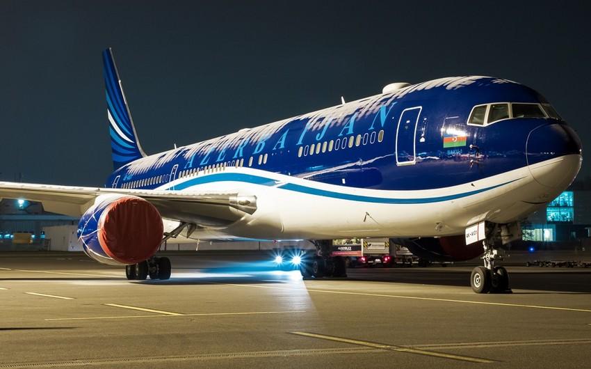 Самолет, летевший из Баку в Дубай, совершил вынужденную посадку