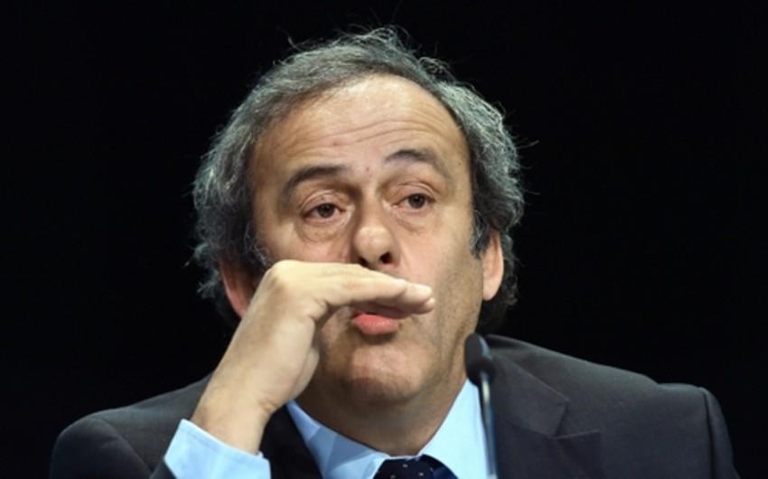 Mişel Platini apellyasiya şikayəti verəcək