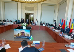 Azerbaijani delegation attends CIS Economic Council meeting