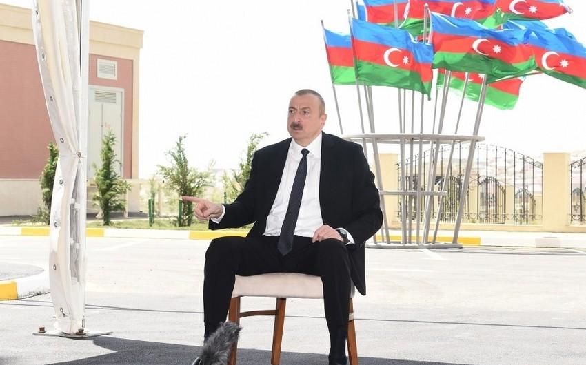 İlham Əliyev: Heydər Əliyev amili qoymurdu ki, ermənilər baş qaldırsınlar