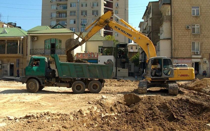 Paytaxtın Yasamal rayonunda yeni yol infrastrukturu yaradılır