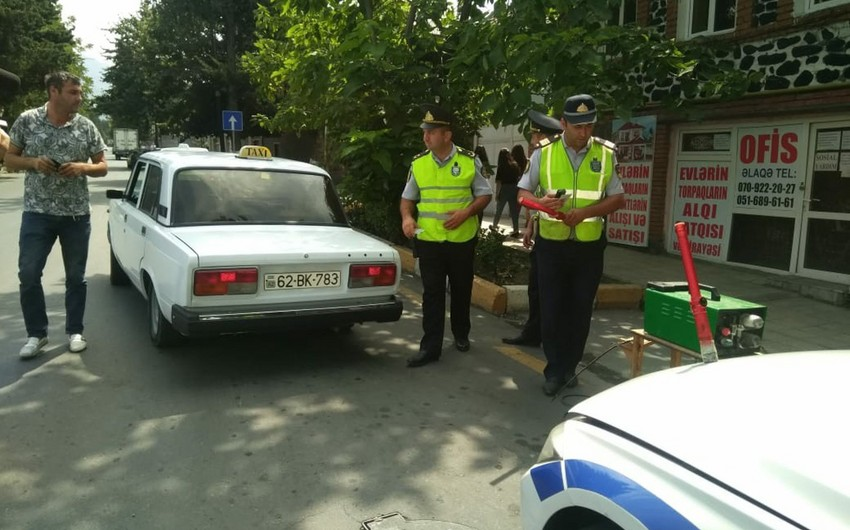 Yol polisi Şirvanda reyd keçirib, 33 sürücü cərimələnib