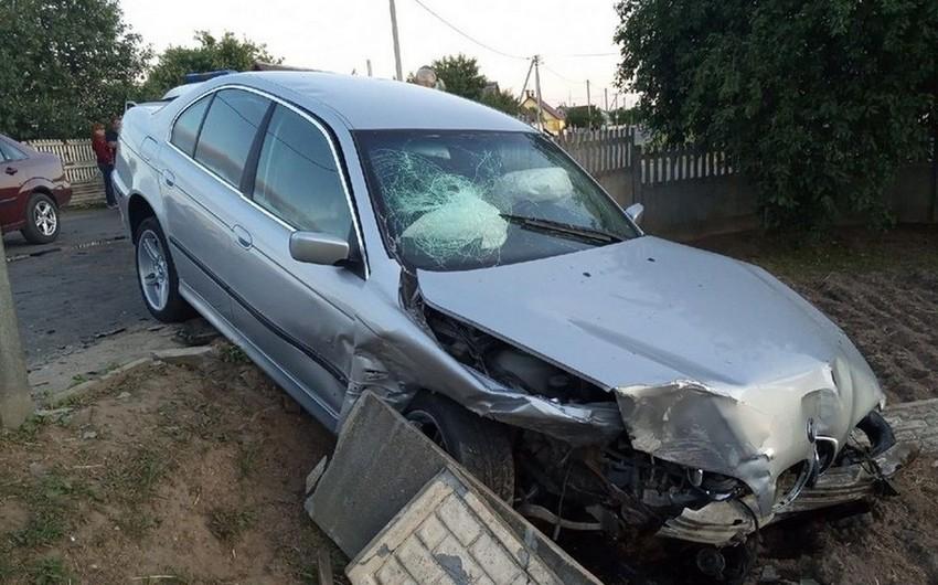 Гражданин Грузии попал в аварию в Губе