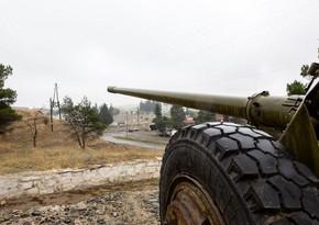ВС Армении подвергают интенсивному обстрелу села Агдама