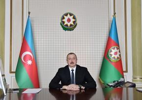 İlham Əliyev Belarusun dövlət başçısına məktub göndərib