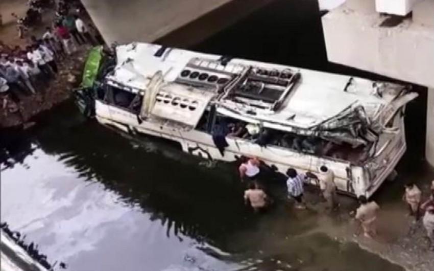 В Индии погибли 29 человек в результате ДТП с автобусом