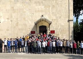 Türkiyəli hərbçilər Hərb Tarixi Muzeyini ziyarət etdi
