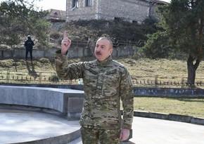 Президент: Граждане Азербайджана смогут беспрепятственно ездить в Шушу