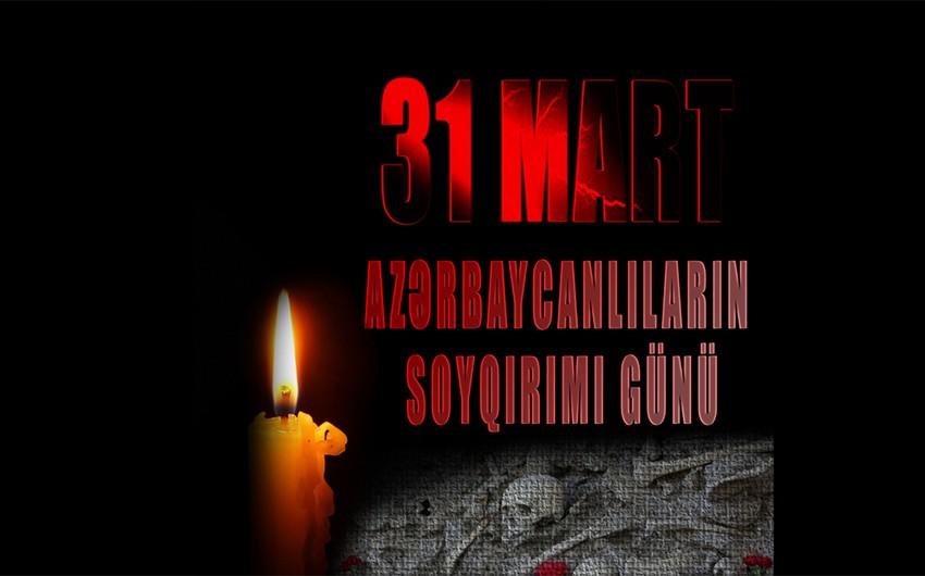 Azərbaycanın dini icmaları 31 mart soyqırımının ildönümü ilə bağlı dünya ictimaiyyətinə müraciət edib