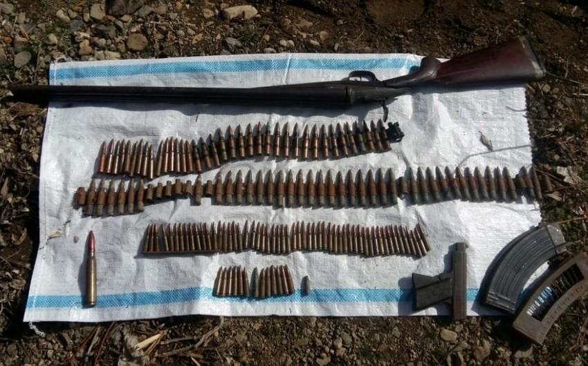 Gəncədə silah-sursat tapılıb