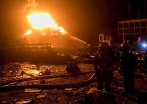 Взрыв на заводе в Китае, множество погибших и раненых