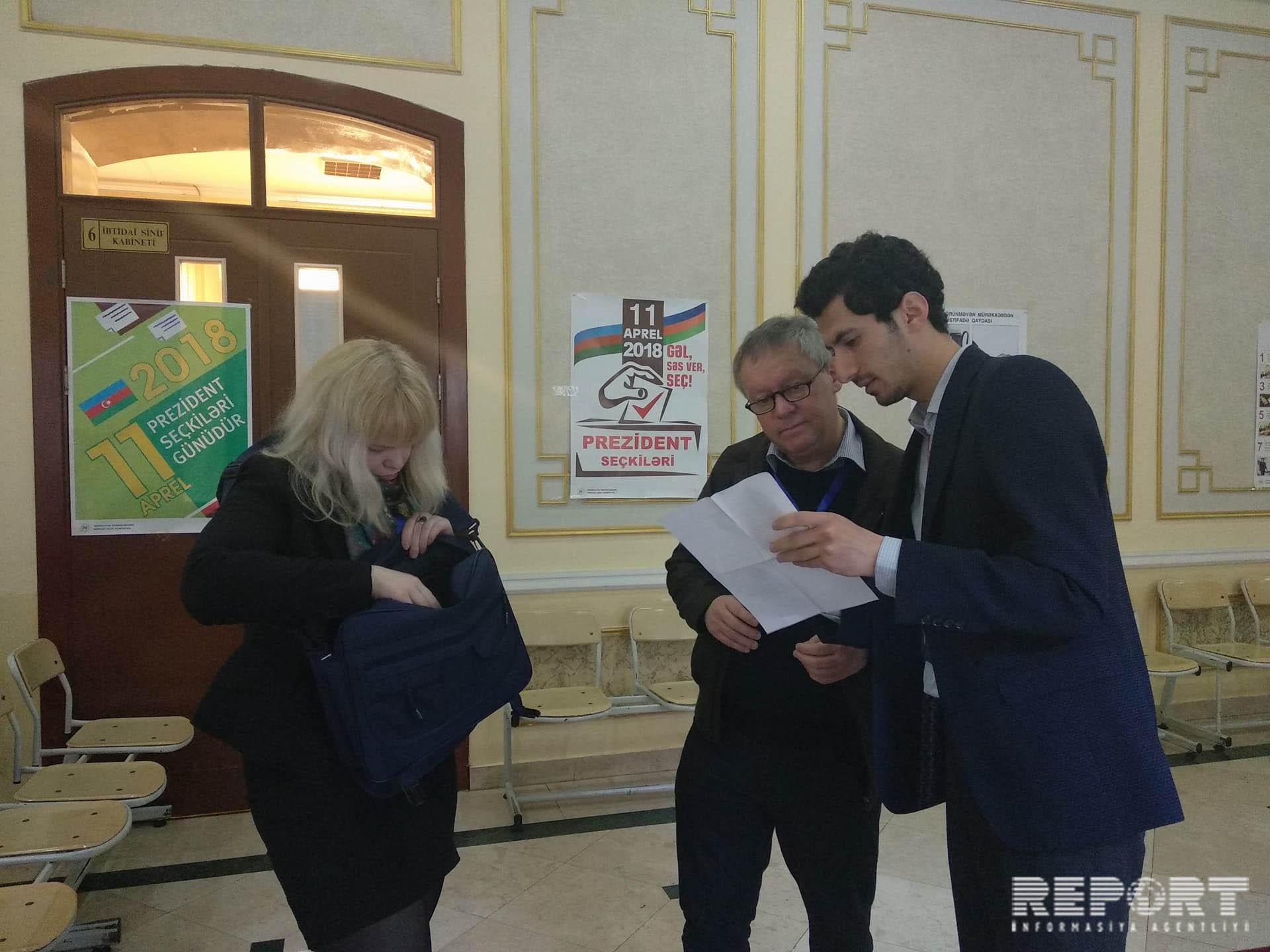 Миссия ПАСЕ начала наблюдение за ходом голосования на президентских выборах в Азербайджане