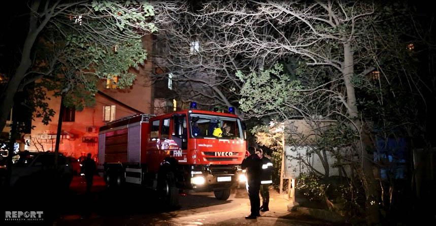 В жилом доме в Сумгайыте произошел пожар, эвакуированы 8 человек