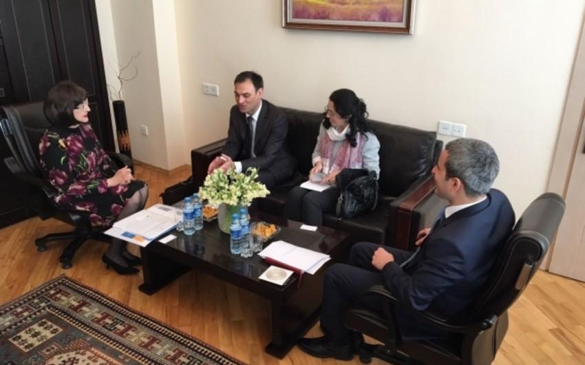 Nazir müavini Alman-Azərbaycan Xarici Ticarət Palatasının icraçı direktoru ilə görüşüb
