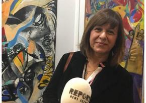Эсмер Нариманбекова: Люблю знакомить мир с работами азербайджанских художников
