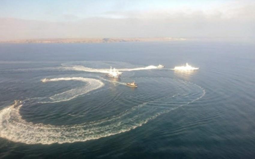 FTX: Krımda Ukraynanın 3 gəmisi saxlanılıb, xəsarət alanlar var