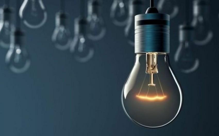 Bu il Azərbaycanda elektrik enerjisinin istehsalının həcmi açıqlanıb