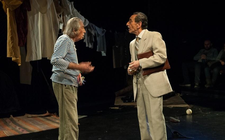 Akademik Milli Dram Teatrında daha bir tamaşanın premyerası olub