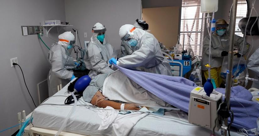 В России выявили 8 380 новых случаев заражения коронавирусом