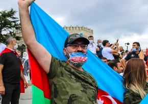 İstanbulda Azərbaycana dəstək mitinqi keçirilib