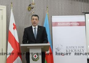 Tbilisidə Xocalı soyqırımına həsr olunan anım mərasimi keçirilib