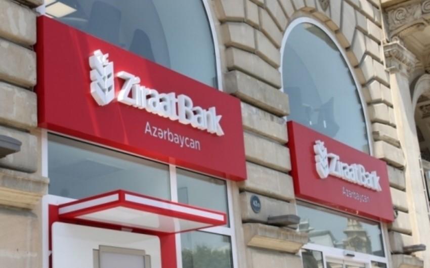 """""""Ziraat Bank Azerbaijan""""ın xalis mənfəəti azalıb"""