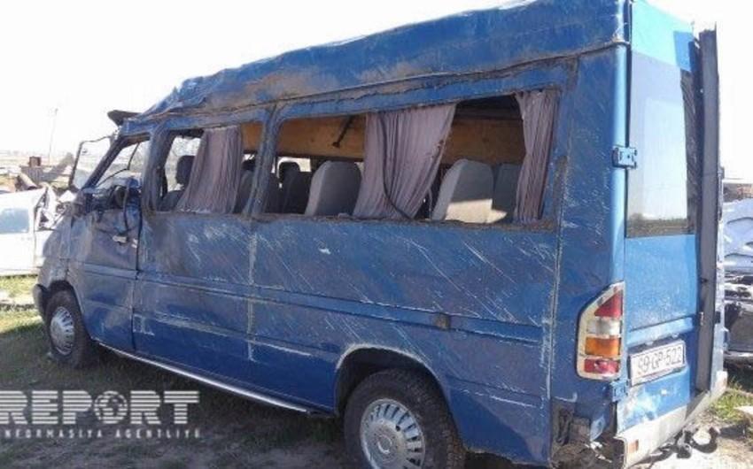 Qubada baş verən yol qəzasında 1 nəfər ölüb, 7 nəfər yaralanıb - YENİLƏNİB
