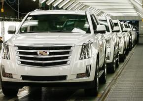 """""""General Motors"""" yenə istehsalı dayandırır"""