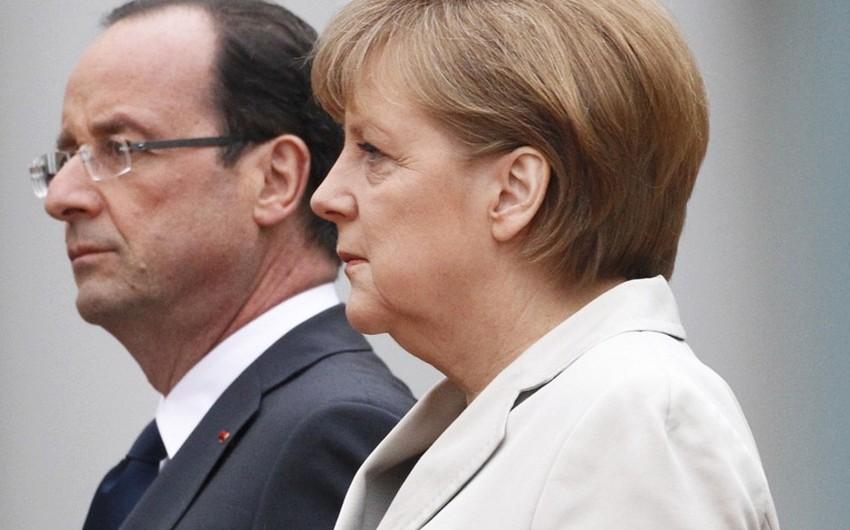Merkel and Hollande seek prolongation of sanctions against Russia