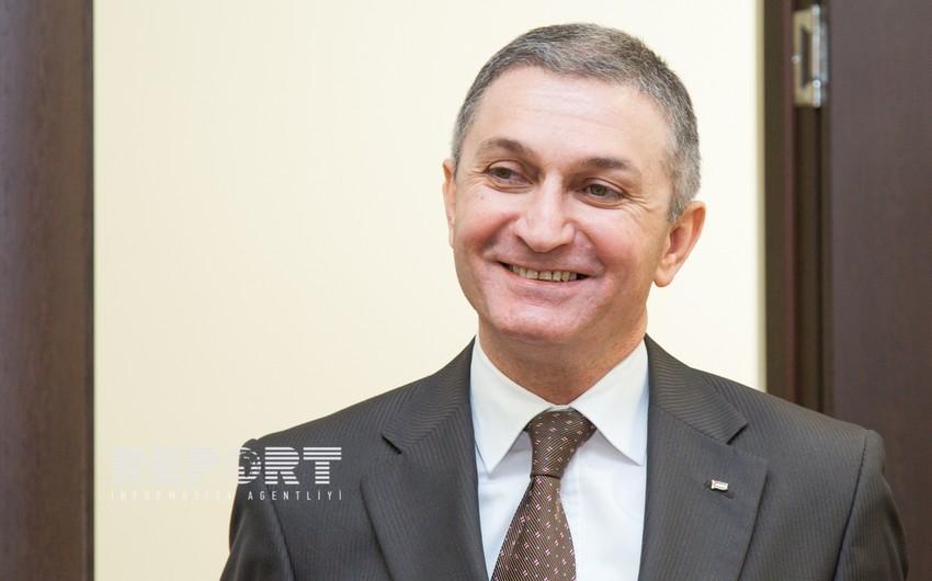 Fələstinin Azərbaycandakı səfiri Report İnformasiya Agentliyində olub - FOTO