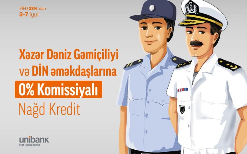"""""""Unibank"""" komissiyasız kredit aksiyası keçirir"""